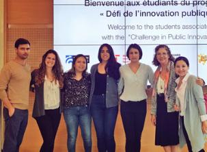 Étudiants mexicains participant au programme