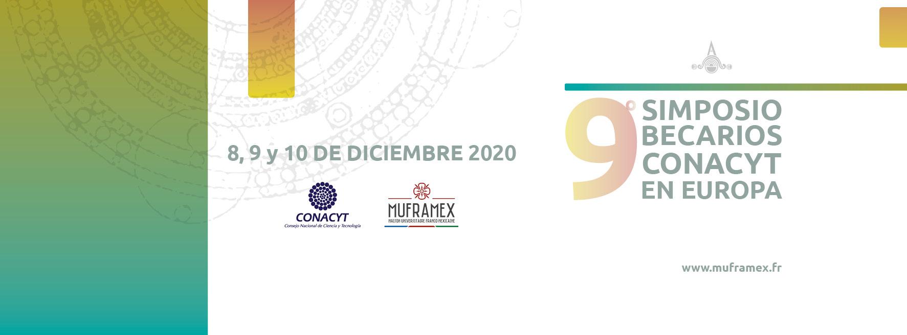 Banner 9º Simposio Becarios Conacyt en Europa SBCE